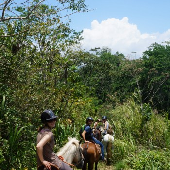 Horse riding tour in Monte Claro