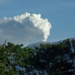 Volcan Turrialba in Monte Claro