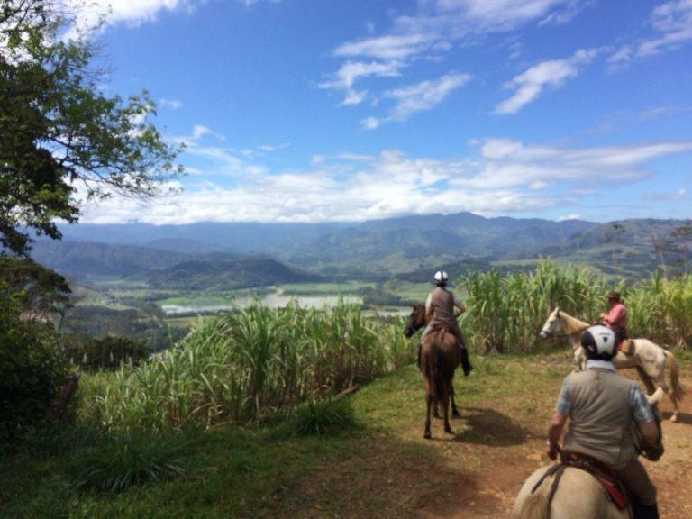 Randonnée équestre à travers le Costa Rica - Hacienda Monte Claro