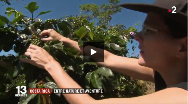 Marie Beuchet - Hacienda Monte Claro on France 2 TV