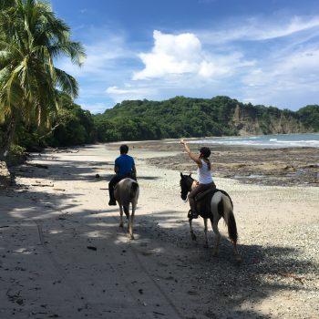 Hacienda Monte Claro - Rando équestre Pacifique - Cabalgata - Hoseback riding trek