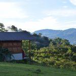Eco deck in Hacienda Monte Claro, Costa Rica