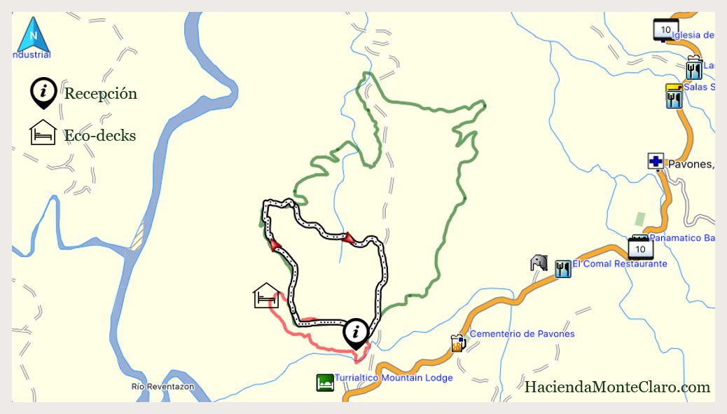 Pizote Trail - Hacienda Monte Claro